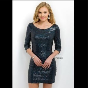 Blush Dresses - Intrigue by Blush Navy cocktail dress size 2